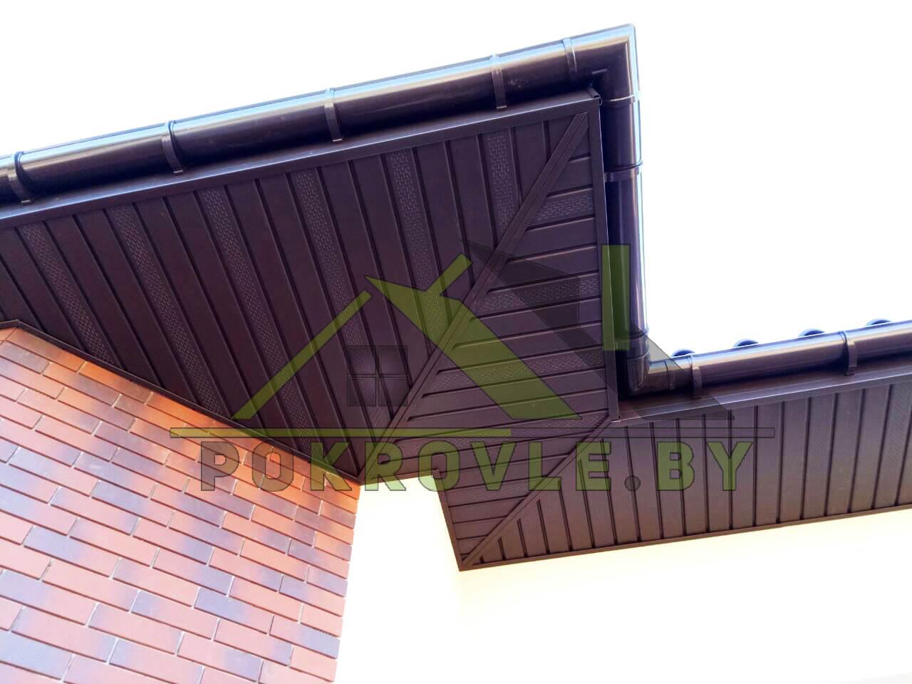 Как сделать подшив крыши своими руками